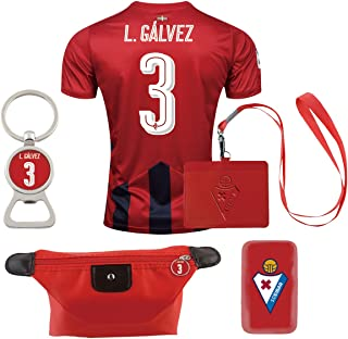 #3 L. Galvez (6 in 1 Combo) Los Armeros Home Match Adult Soccer Jersey 2016-17