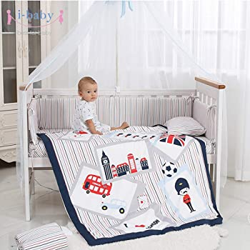 2 PIECES NURSERY BABY BEDDING PILLOW-QUILT COVER fit Cot 100/% cotton
