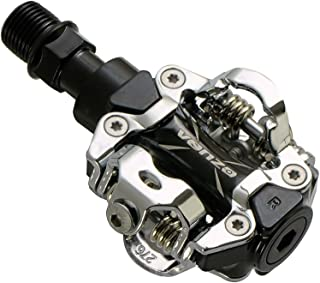 Venzo MTB Mountain Bike Sealed Clipless Pedals Compatible with Shimano SPD Type Cleats SM-SH51 MTB Shoes - Easy Clip in