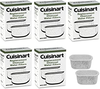 Cuisinart DCC-RWF Charcoal Water Filters to fit model DGB-600, DGB-700, DCC-750 (6-Packs/12 Filters)