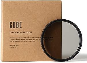 Gobe 55mm Circular Polarizing  CPL  Lens Filter  3Peak