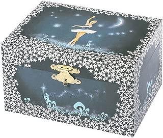 Trousselier - Ballerina - Photoluminescent Music Box - Glow in The Dark - Dark Blue