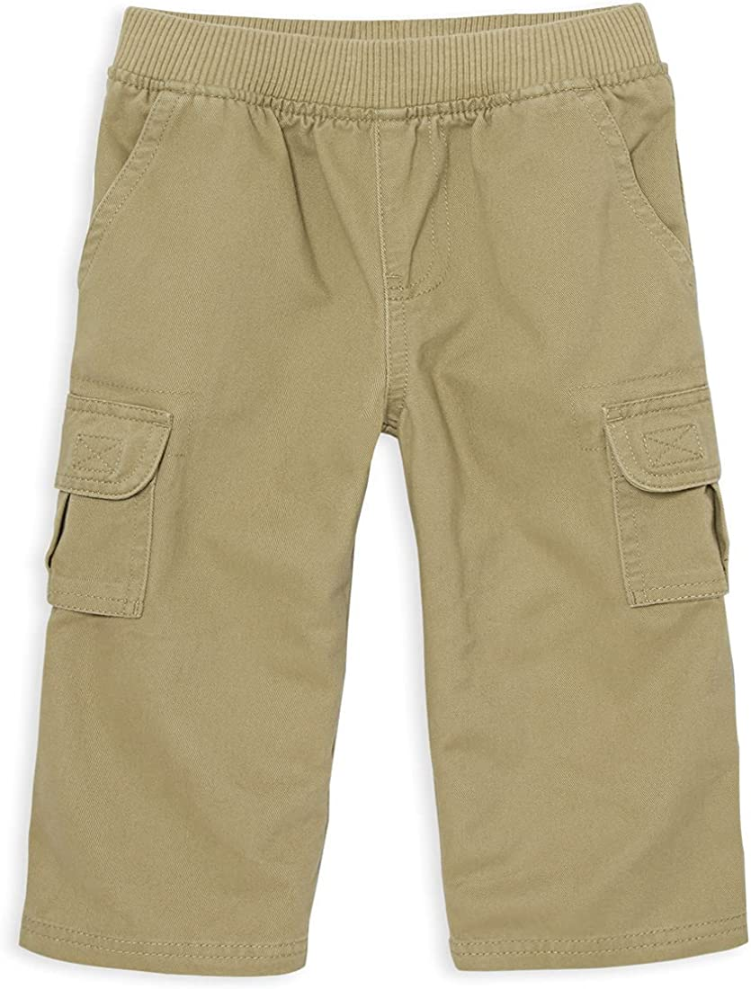 The Children's Place Baby Toddler Boys Pull on Cargo Pants