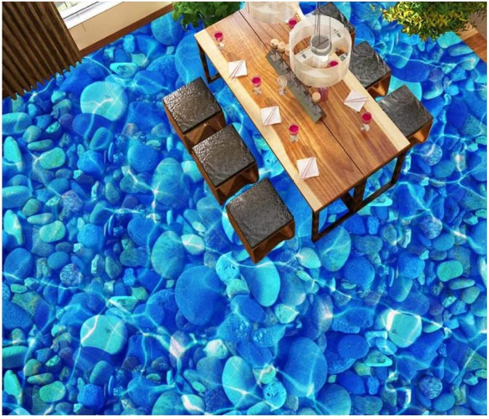 Self Adhesive Wall Paper River Vinyl Floor Tile Pebbles Super special price Wallpape Surprise price