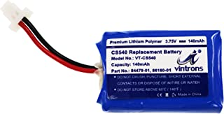 Plantronics CS540, C054 Replacement Battery, VINTRONS, 86180-01, 84479-01 Battery for Plantronics CS540, C054 Wireless Headset