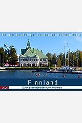 Finnland - Durch Seenlandschaften zum Polarkreis (Tischkalender 2022 DIN A5 quer) Kalender