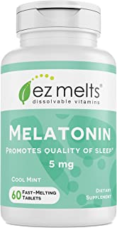 melatonin melt in your mouth