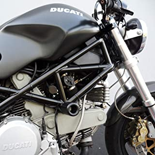 Shogun Ducati Hypermotar, Monster, Tricolore Sport Classic, Paul Smart Sport, Multistrada, Super Sport, Sport Black No Cut Frame Sliders -750-8209 - MADE IN THE USA