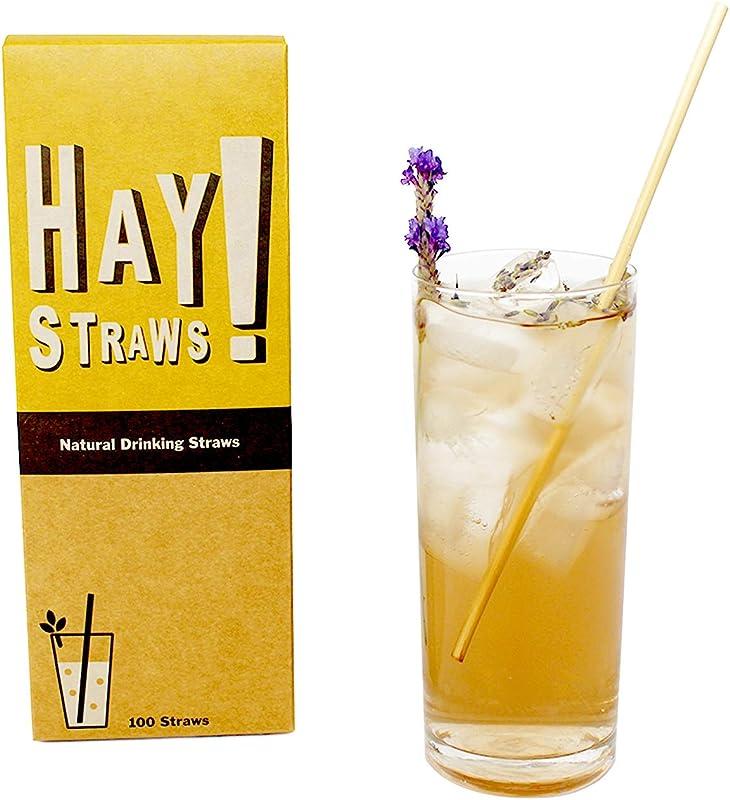 HAY Natural Drinking Straws Tall 7 75