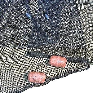 Frabill Minnow Seine .25-Inch Mesh (4 X 8-Feet), Black, One Size (2152)