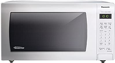 PANASONIC Countertop Microwave Oven with Inverter Technology, Genius Sensor, Turbo Defrost and 1250W of high cooking power...