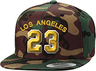 Los Angeles Player LAbron #23 Snapback Cap Custom Embroidery Baseball Hat
