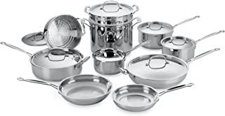 Cuisinart 77-17 Chef's Classic Stainless 17-Piece Cookware Set DISCONTINUED BY MANUFACTURER