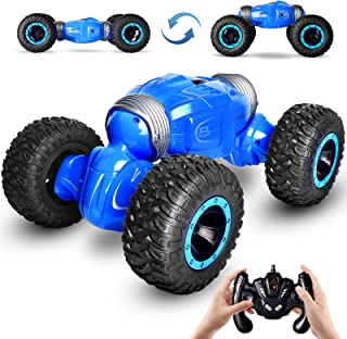 kingduos RC Car, 1:14 Kids Toys Off Road Transform Racing Car 2.4Ghz 4WD Electric Motors Vehicles with 3 Rechargeable Batt...