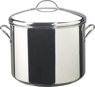 Farberware Classic Stainless Steel 16-Quart Covered Stockpot, Silver - 50009