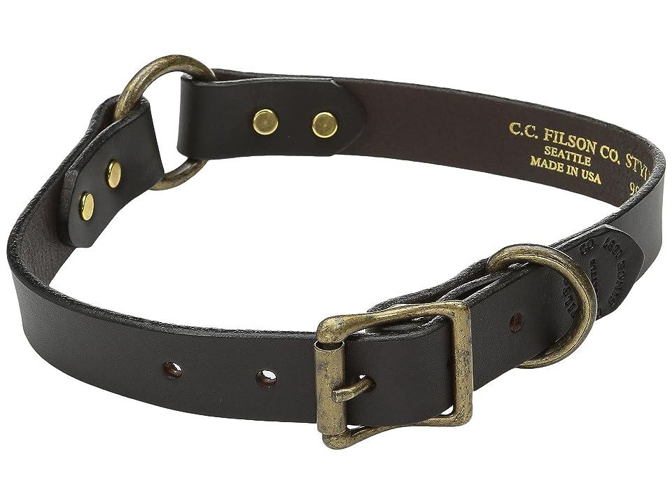 Filson Dog Collar (Brown) Dog Collar