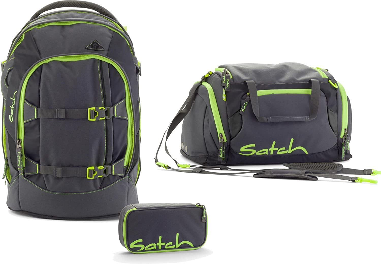 Satch Pack - 3 tlg. Set Schulrucksack - Phantom B0184TZAIA | Spezielle Funktion
