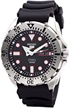 Seiko 5 Sports SRP601J1 Men's Japan Automatic Black Resin Band 100M Dive Watch