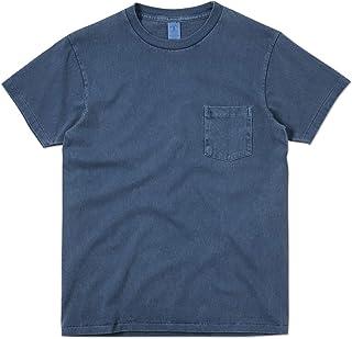 Velva Sheen ベルバシーン 161364 PIGMENT S/S クルーネック ポケットTシャツ MADE IN USA