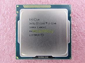 Intel Core i3-3240 3.4GHz 3.40GHz 3M SR0RH Socket 1155 Ivy Bridge CPU Processor (Renewed)