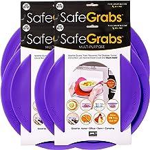 Safe Grabs: Multi-Purpose Silicone Original Microwave Mat as Seen on Shark Tank | Splatter Guard, Trivet, Hot Pad, Pot Hol...