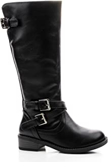 Ruby Largo-3C Girls Kids Riding Boot Knee/Calf High