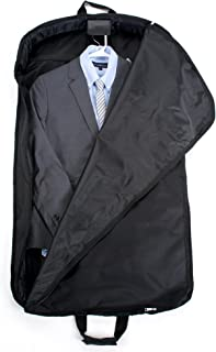 """DELSEY Paris Delsey Luggage Helium Lightweight 45"""" mid Length Garment Cover, Black (Black) - 45845"""