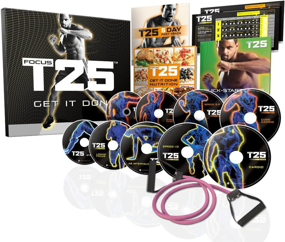 Amazon.com Beachbody Focus T20 Shaun T's DVD Workout Program ...