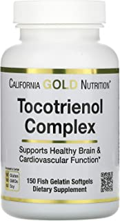 California Gold Nutrition Tocotrienol Complex, 150 Fish Gelatin Softgels