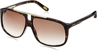 نظارة شمسية ام جيه يونيسكس للبالغين من مارك جاكوبس طراز 252/S JS 086 60 (بني داكن/ بني)