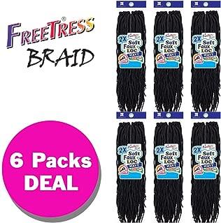 Best freetress braid soft faux locs Reviews