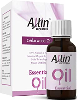 Allin Exporters Cedarwood Oil Pure , Natural & Undiluted - 15 Ml
