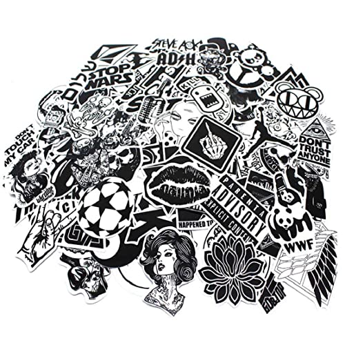 Laptop Car Stickers 100 Pcs,Graffiti Stickers Pack for Car, Laptop, Skateboard, Luggage, Waterproof Vinyl Stickers Car Decals Laptop Skins Bumper Stickers Bomb for Motorcycle Bicycle(Not Random)