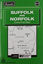 Suffolk and Norfolk Map (Road Maps)