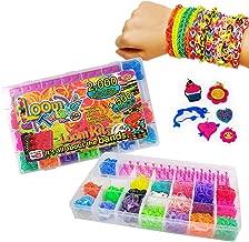 Loom Bands Twister Case Kit - 2000 Bands + 500 Scented Bands - Friendship Jewellery Making Set