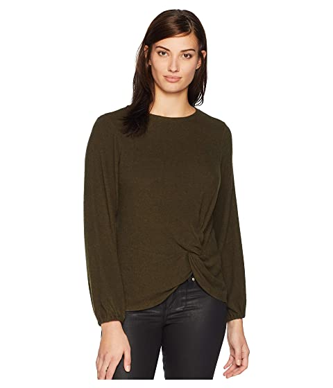 B Collection By Bobeau Tops , MILITARY OLIVE