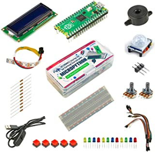 UCTRONICS Raspberry Pi Pico Starter Kit for Official Starter Book (Get Started with MicroPython on Raspberry Pi Pico), Pre...