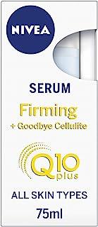 Nivea Q10 Body Cellulite Serum (75 ml), Powerful Anti Cellulite Serum with Q10, Firming Body Lotion Serum with Concentrate...