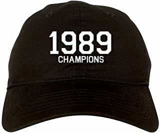 Kings Of NY 1989 Champions Tropy Winners 6 Panel Dad Hat Cap