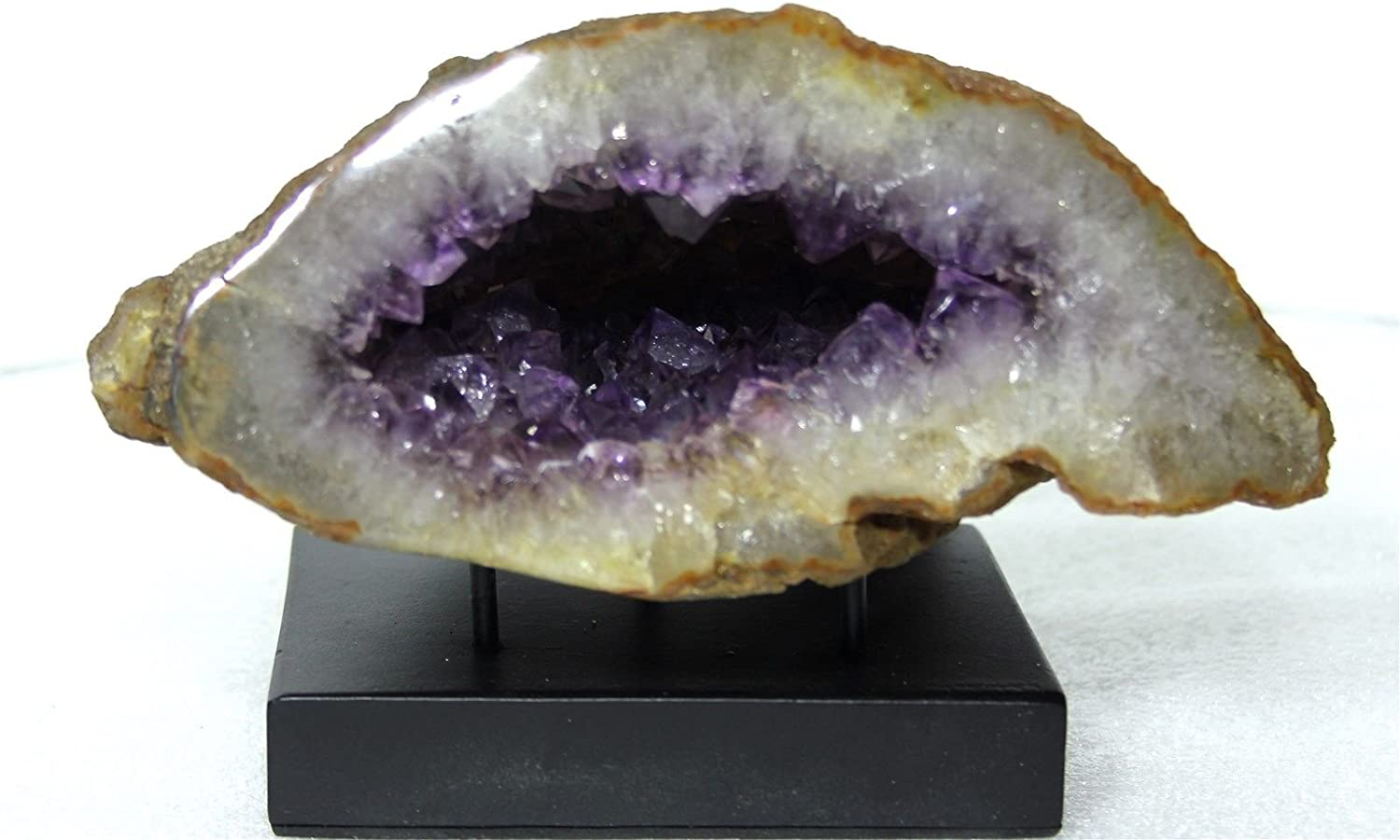 Mine Treasures Excellent Max 76% OFF Polished Crysta Amethyst Purple Industry No. 1 Crystal
