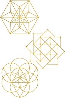 sacred geometry wall decal