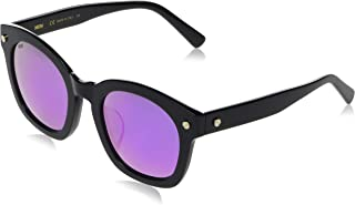 MCM Sunglasses - MCM634SA 001 - Black/Grey Mirror (52/23/140)