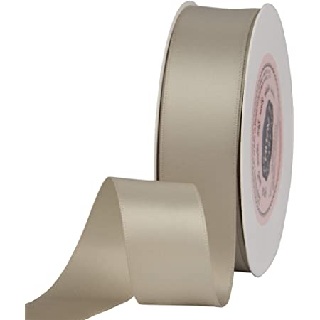 9m Satin Ribbon Width 22mm Cut-out Ribbons Single Face Ribbons Single Colour Haberdashery