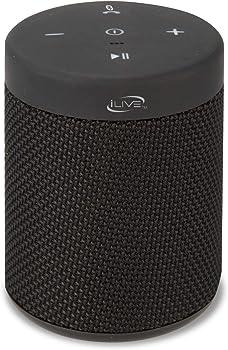 iLive Waterproof Fabric Wireless Speaker