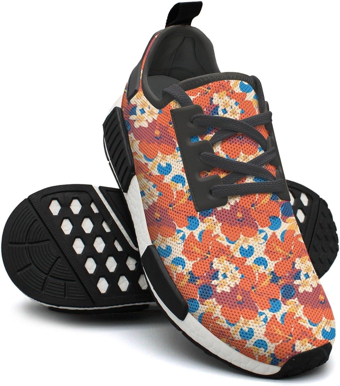 Summer Hawaiian Tropical Pattern Best Running shoes Women Nmd Sport Tennis shoes