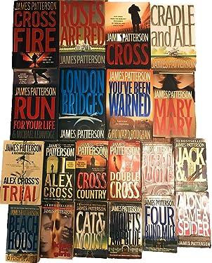 Alex Cross Series Set Books 1-20 by James Patterson