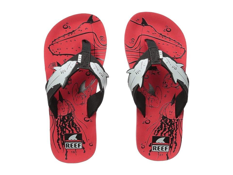 Reef Kids Ahi Shark (Little Kid/Big Kid) (Red Shark) Boys Shoes