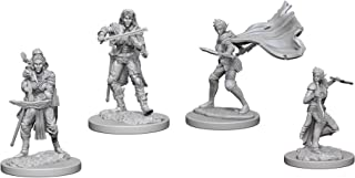 Pathfinder Battles Deep Cuts Miniatures Bundle: Elf Female Bard W4 + Elf Female Rogue W4