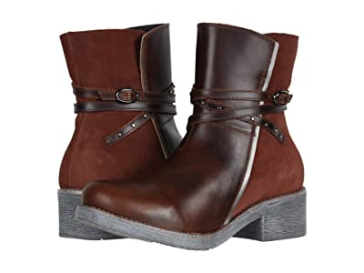 Naot Poet (Buffalo Leather/Rust Suede/Mirror Leather) Women
