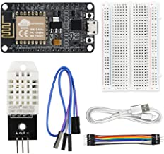 WayinTop DHT22 Temperature and Humidity Web Server Kit for ESP8266 with Tutorial, WiFi Development Board + DHT22 Temperatu...